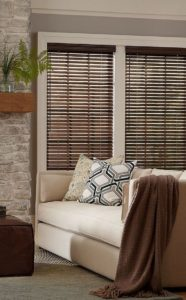 Wooden blinds for home Dubai