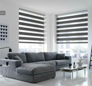 Blinds in the room