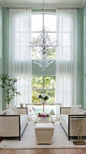 Light sheer curtains