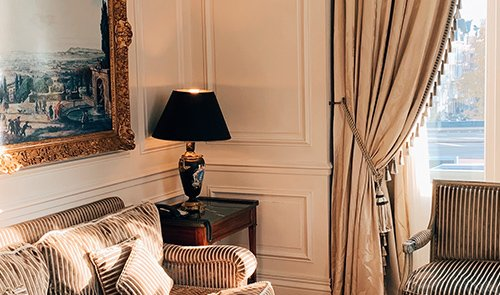 Curtains for living room Dubai